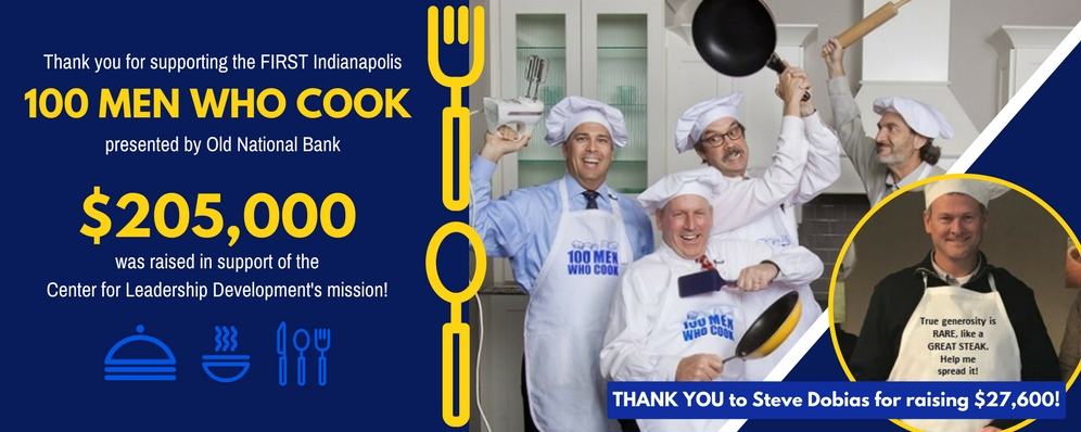 100 Men Who Cook: Thank you!