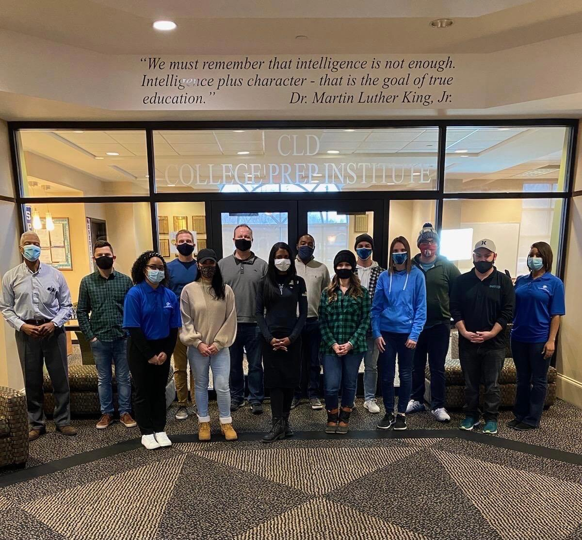 Center for Leadership Development, Onebridge celebrate MLK Jr. Day with a unique day of service